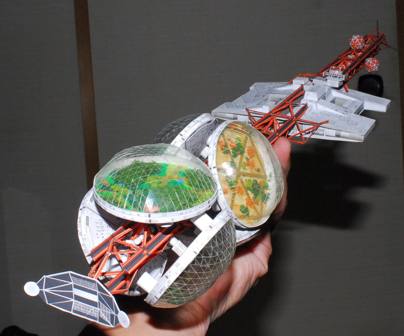 paper spacecraft models - photo #18