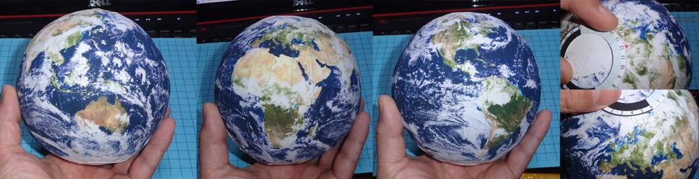 โมเดลกระดาษโลก